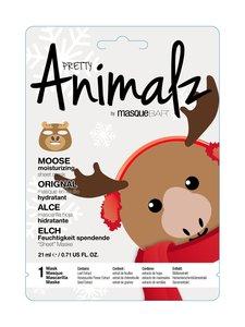 Masque Bar - Pretty Animalz Holiday Moose Moisturizing Sheet Mask -kasvonaamio - null | Stockmann