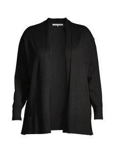 cut & pret PLUS - JARELLA_PLUS open cardigan -neuletakki - BLACK   Stockmann