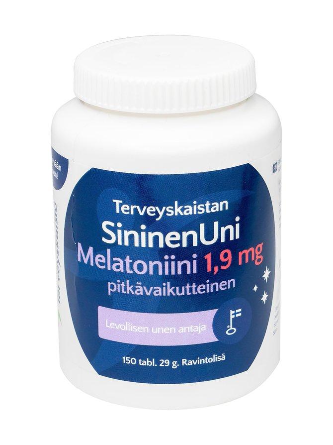 SininenUni, pitkävaikutteinen 1,9 mg 150 tabl