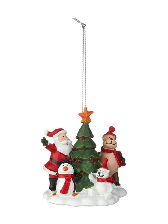 Casa Stockmann - Santa/Animals/Tree -joulukoriste - RED | Stockmann - photo 1