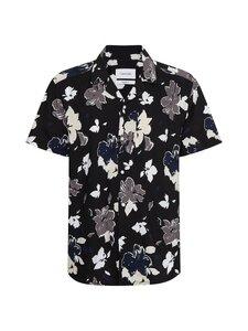 Calvin Klein Menswear - Floral Short Sleeve -paita - 0GM FLOWER PRINT / BLACK   Stockmann