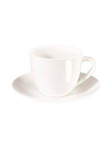 Asa - Á Table -cappuccinokuppi 0,25 l ja -lautanen - VALKOINEN | Stockmann