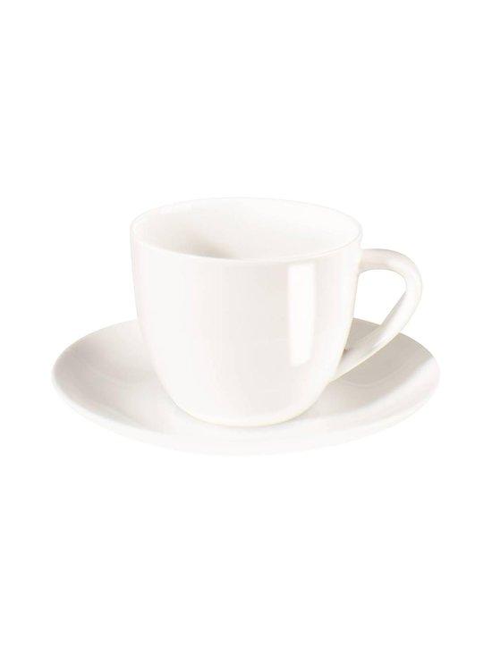 Asa - Á Table -cappuccinokuppi 0,25 l ja -lautanen - VALKOINEN | Stockmann - photo 1