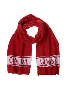Canada Goose - Merino Logo Scarf -merinovillahuivi - 11 RED | Stockmann