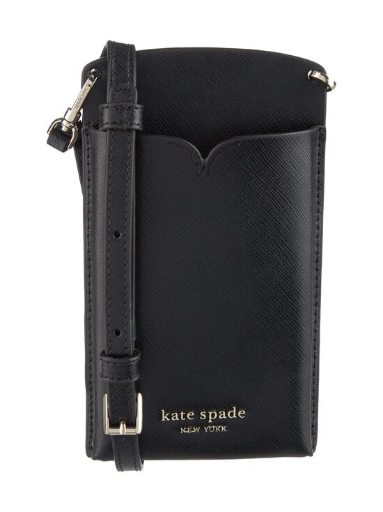 kate spade new york - Spencer Slim Crossbody -nahkalaukku - 001U BLACK | Stockmann - photo 1