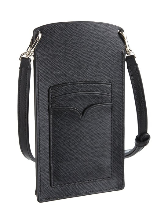 kate spade new york - Spencer Slim Crossbody -nahkalaukku - 001U BLACK | Stockmann - photo 2