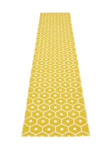 Pappelina - Honey-muovimatto 70 x 350 cm - MUSTARD/VANILLA | Stockmann