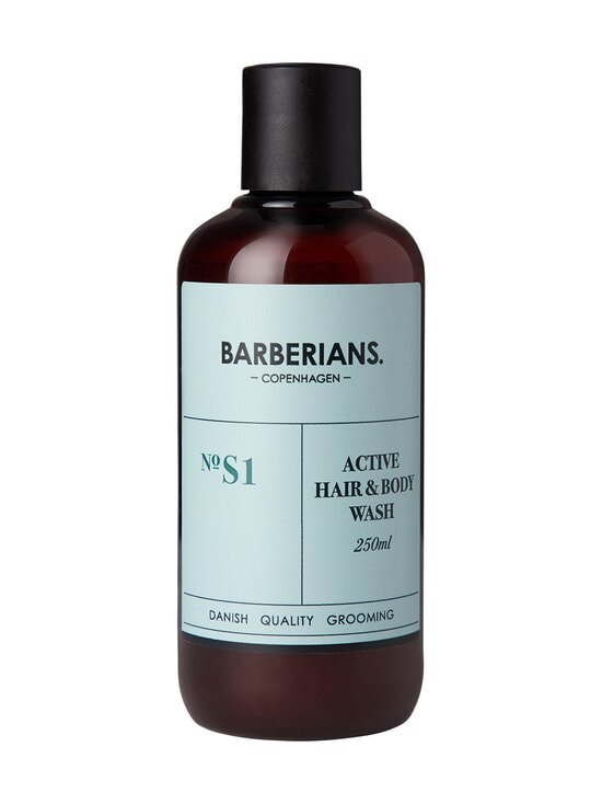 Barberians - Active Hair & Body Wash -suihkugeeli 250 ml - NOCOL | Stockmann - photo 1