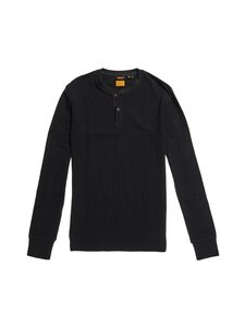 Superdry - Henley-paita - 02A BLACK | Stockmann