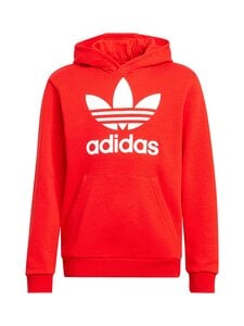adidas Originals - Trefoil Hoodie -huppari - RED/WHITE   Stockmann