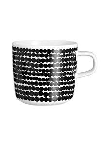 Marimekko - Räsymatto-kahvikuppi 2 dl - MUSTAVALKOINEN | Stockmann