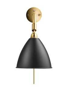 Gubi - Bestlite BL7 Wall Lamp -seinävalaisin - SOFT BLACK SEMI MATT | Stockmann