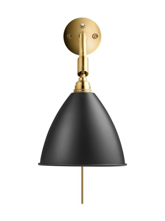 Gubi - Bestlite BL7 Wall Lamp -seinävalaisin - SOFT BLACK SEMI MATT | Stockmann - photo 1