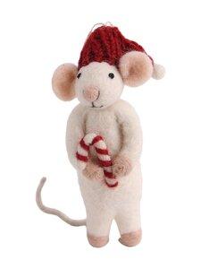 Én Gry & Sif - Hiiri ja karkki -joulukoriste - WHITE | Stockmann