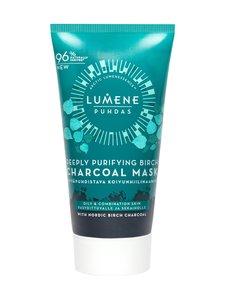 Lumene - PUHDAS Deeply Purifying Birch Charcoal Mask -syväpuhdistava koivunhiilinaamio 75 ml - null | Stockmann