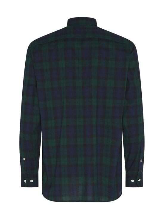 Tommy Hilfiger - Flex Black Watch Check Shirt -kauluspaita - 0N1 HUNTER / PITCH BLUE / BLACK | Stockmann - photo 2