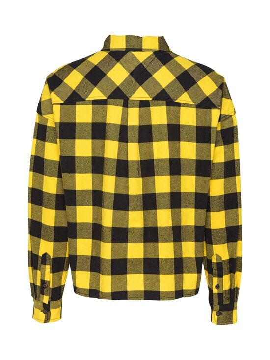 Tommy Jeans - TJW Gingham Check Shirt -pusero - ZGQ STAR FRUIT YELLOW / BLACK | Stockmann - photo 2
