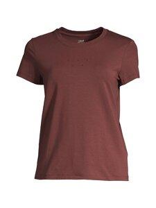 Casall - Logo Tee -paita - MAHOGANY RED 230 | Stockmann