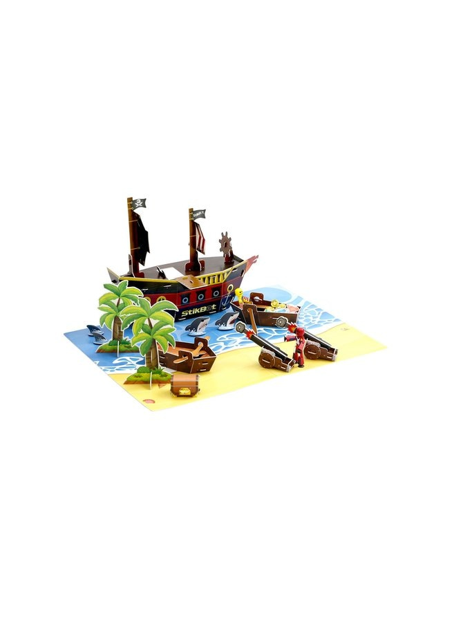 Stikbot merirosvo-elokuvaleikkisetti