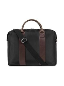 STEELE & BOROUGH - Freedom Briefcase -salkku - BLACK/BROWN | Stockmann