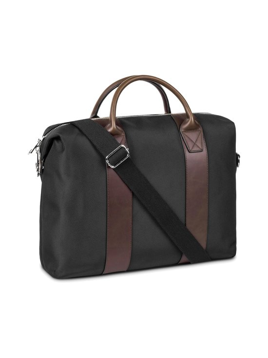 STEELE & BOROUGH - Freedom Briefcase -salkku - BLACK/BROWN | Stockmann - photo 2