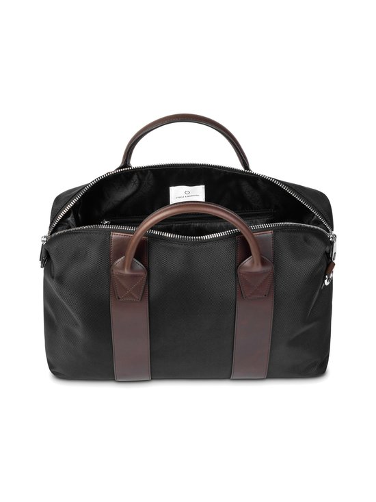 STEELE & BOROUGH - Freedom Briefcase -salkku - BLACK/BROWN | Stockmann - photo 3