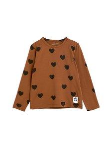 Mini Rodini - Hearts-paita - BROWN | Stockmann