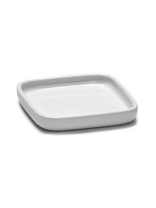 Serax - Heii Plate Square -lautanen 8 x 8 cm - WHITE | Stockmann