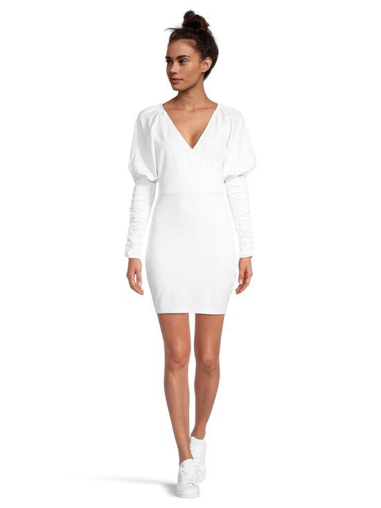 NA-KD - Gathered Sleeve Jersey -mekko - WHITE | Stockmann - photo 2