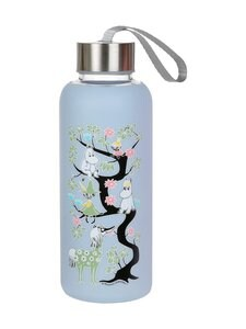 Moomin - Kiipeilypuu-juomapullo 0,45 l - BLUE | Stockmann