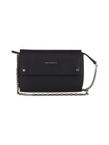 Karl Lagerfeld - K/Ikon Pochette On Chain -nahkalaukku - A999 BLACK   Stockmann