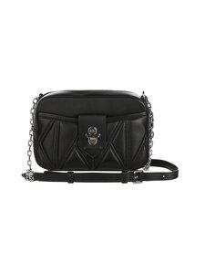 Karl Lagerfeld - K/Studio Zip Camera Bag -nahkalaukku - A994 BLACK/NICKEL   Stockmann