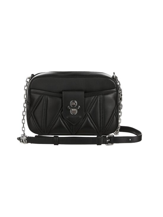 Karl Lagerfeld - K/Studio Zip Camera Bag -nahkalaukku - A994 BLACK/NICKEL | Stockmann - photo 1
