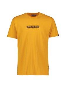 Napapijri - S-Box SS T-shirt -paita - YELLOW SOLAR | Stockmann