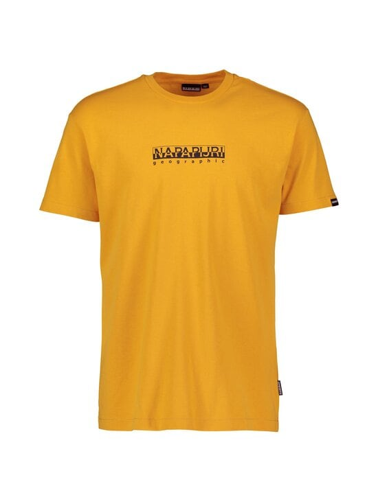 Napapijri - S-Box SS T-shirt -paita - YELLOW SOLAR | Stockmann - photo 1