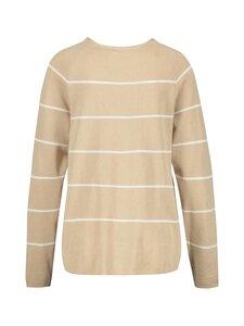 GERRY WEBER CASUAL - Knit striped -neule - 9092 ECRU/WHITE | Stockmann