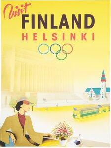 Come to Finland - CTF Samppanjaleidi -juliste - MULTICOLOURED | Stockmann