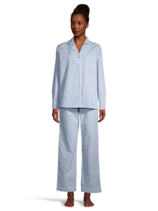 NOOM loungewear - Ina-pyjama - LT.BLUE/WHITE STIRPE | Stockmann - photo 2