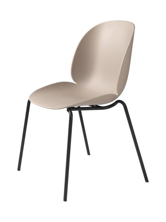 Gubi - Beetle-tuoli - BLACK MATT BASE/NEW BEIGE | Stockmann - photo 1
