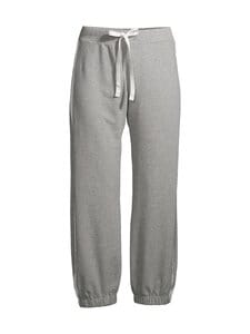 Deha - Crop Pants With Bands -collegehousut - 43800 GREY MELANGE | Stockmann