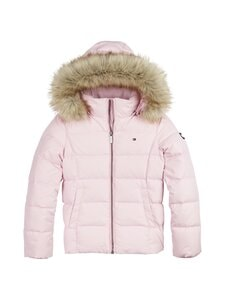 Tommy Hilfiger - Essential Basic Down Jacket -untuvatakki - TOJ ROMANTIC PINK | Stockmann
