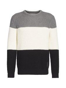Calvin Klein Jeans - Textured Striped -neule - BAE CK BLACK | Stockmann