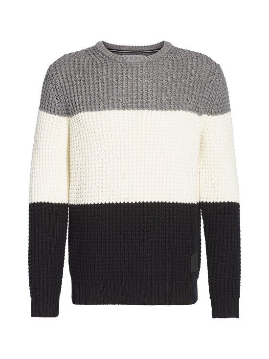 Calvin Klein Jeans - Textured Striped -neule - BAE CK BLACK | Stockmann - photo 1