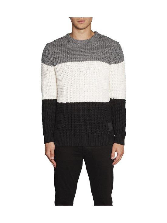 Calvin Klein Jeans - Textured Striped -neule - BAE CK BLACK | Stockmann - photo 4