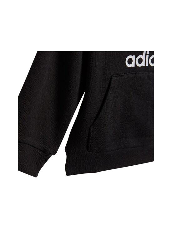 adidas Originals - Trefoil Hoodie -asu - BLACK/WHITE | Stockmann - photo 5