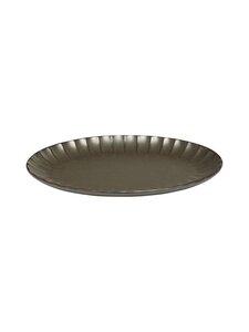 Serax - Inku Oval S -lautanen 25 x 17,5 x 1,7 cm - GREEN | Stockmann