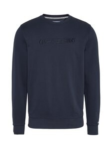 Tommy Jeans - Tjm Tonal Logo Crew -collegepaita - C87 TWILIGHT NAVY | Stockmann