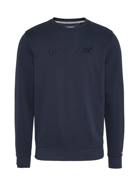 Tommy Jeans - Tjm Tonal Logo Crew -collegepaita - C87 TWILIGHT NAVY | Stockmann - photo 1