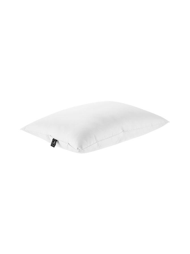 Suoja- keskinapakka ja keskikorkea untuva-höyhentyyny 50 x 60 cm, 600 g