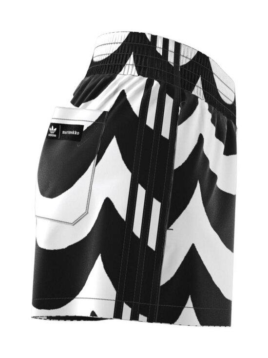 adidas x Marimekko - Short -shortsit - BLACK/WHITE BLACK/WHITE | Stockmann - photo 3